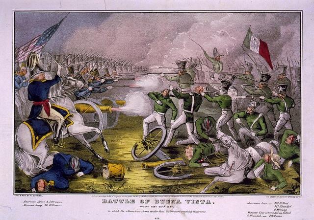 The Battle of Buena Vista 23 February 1847